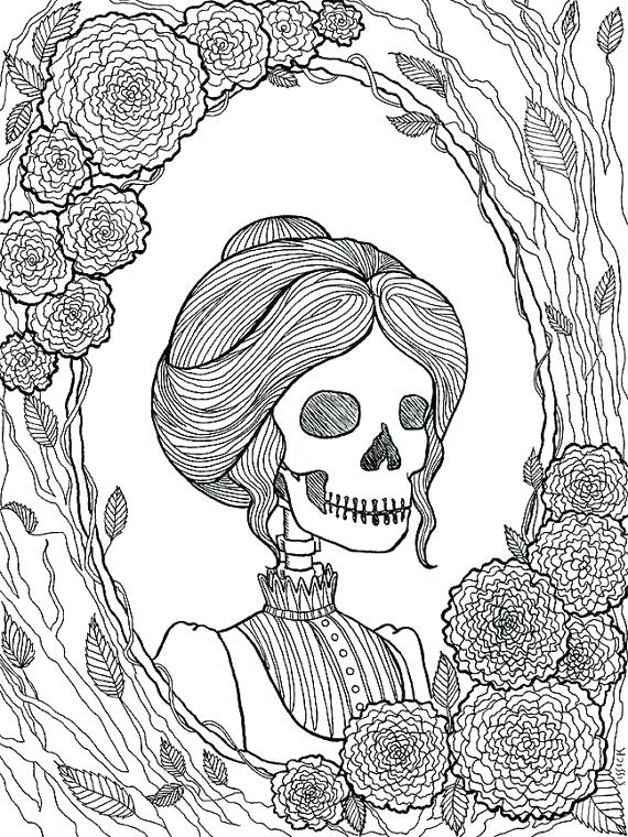 halloween scary coloring pages pictures printable colouring