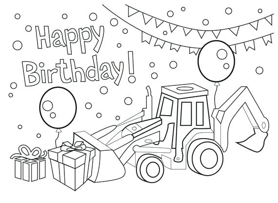 happy birthday coloring page houbaclub