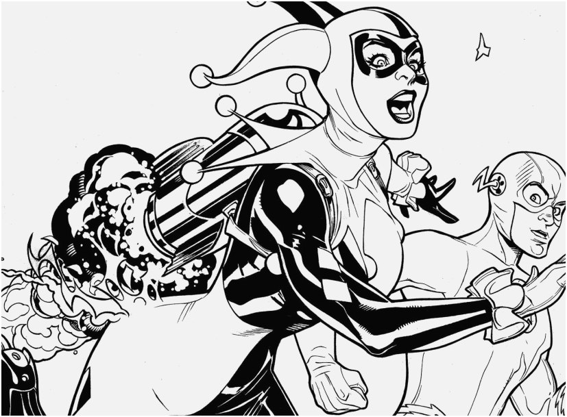 harley quinn coloring pages printable concept suicide squad