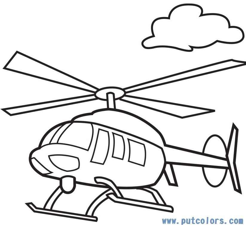 helicopter coloring sheets to print pusat hobi