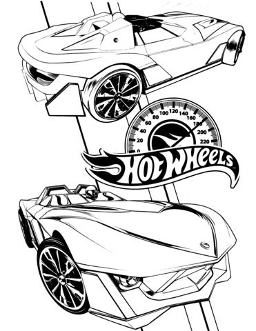 hot wheels coloring page free printable coloring pages