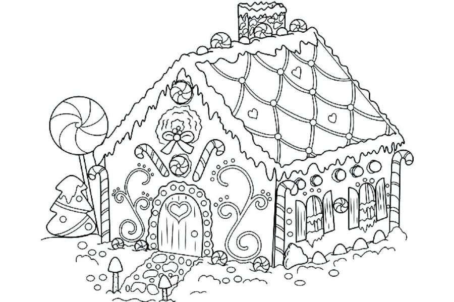house color page colouring pages printable coloring