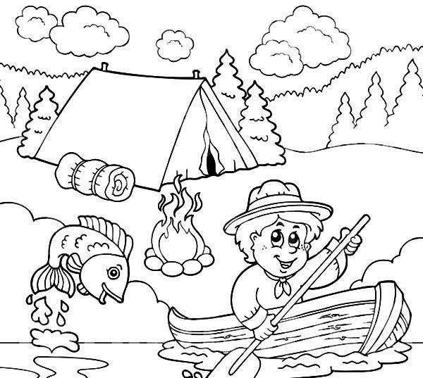 image result for fishing coloring pages kinder basteln