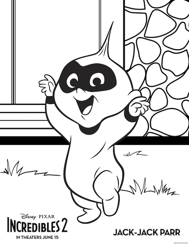 incredibles 2 printables and the world premiere disney