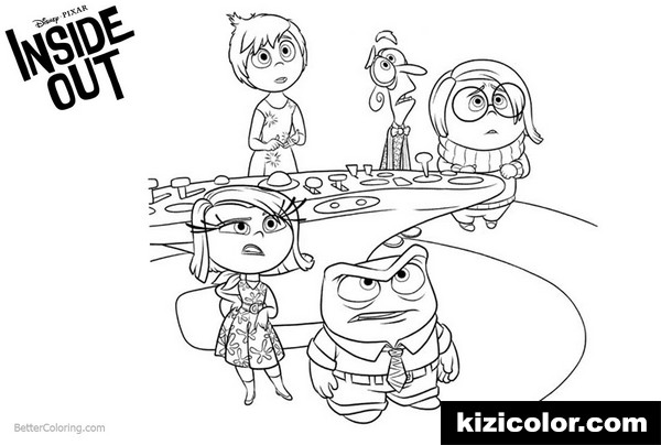 inside out what happened kizi free coloring pages for