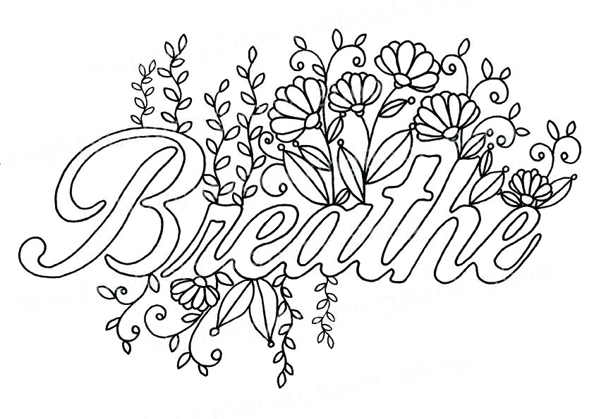 inspiring quotes coloring pages at getdrawings free