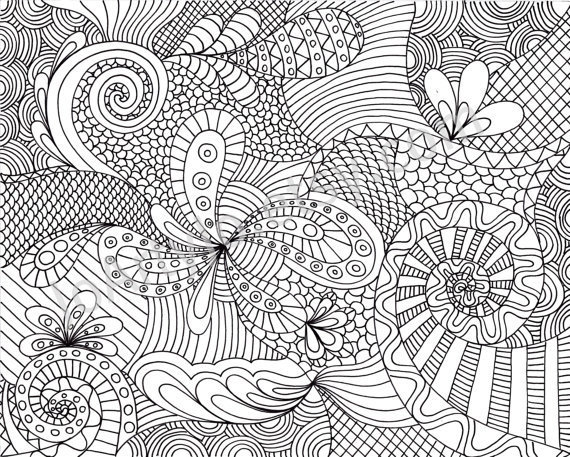 intricate coloring pages printable