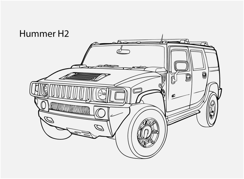 jeep coloring pages view super car hummer h2 coloring page