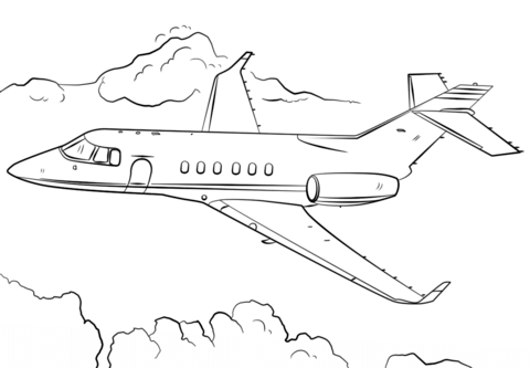 jet airplane coloring page free printable coloring pages
