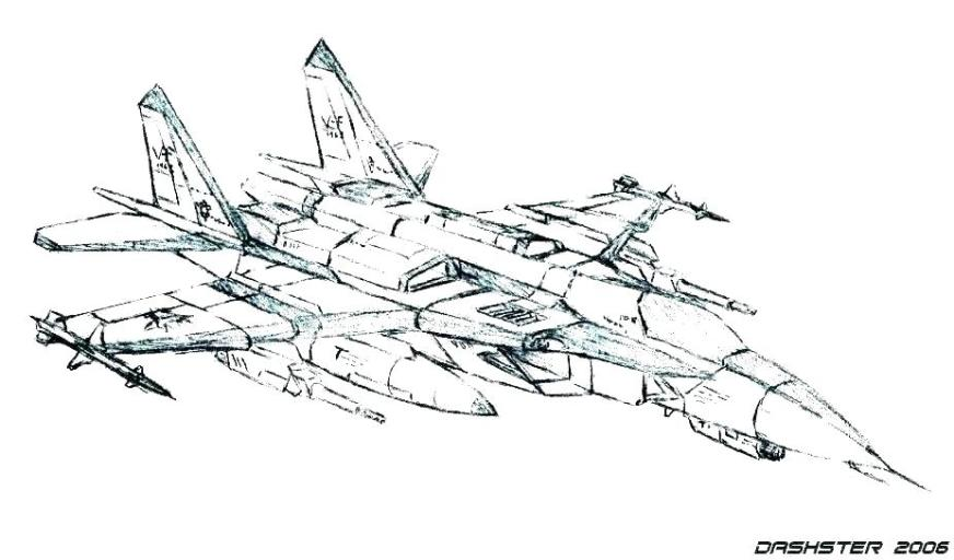 jet coloring pages fighter planes colouring the plane