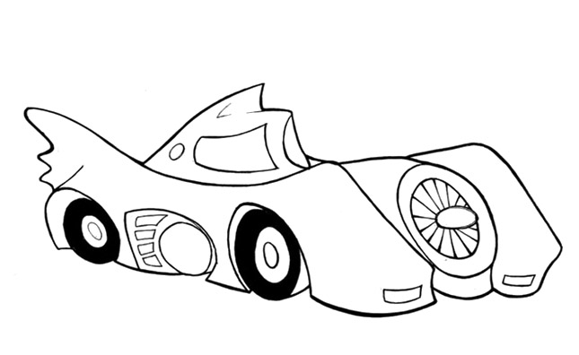 joker car coloring pages free fun for kids