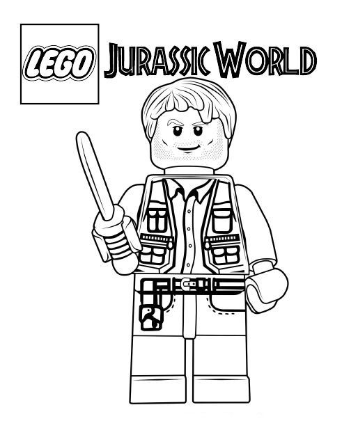 jurassic world coloring pages lego coloring pages lego
