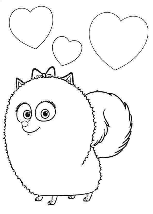 just coloring coloring pages secret life of pets the secret