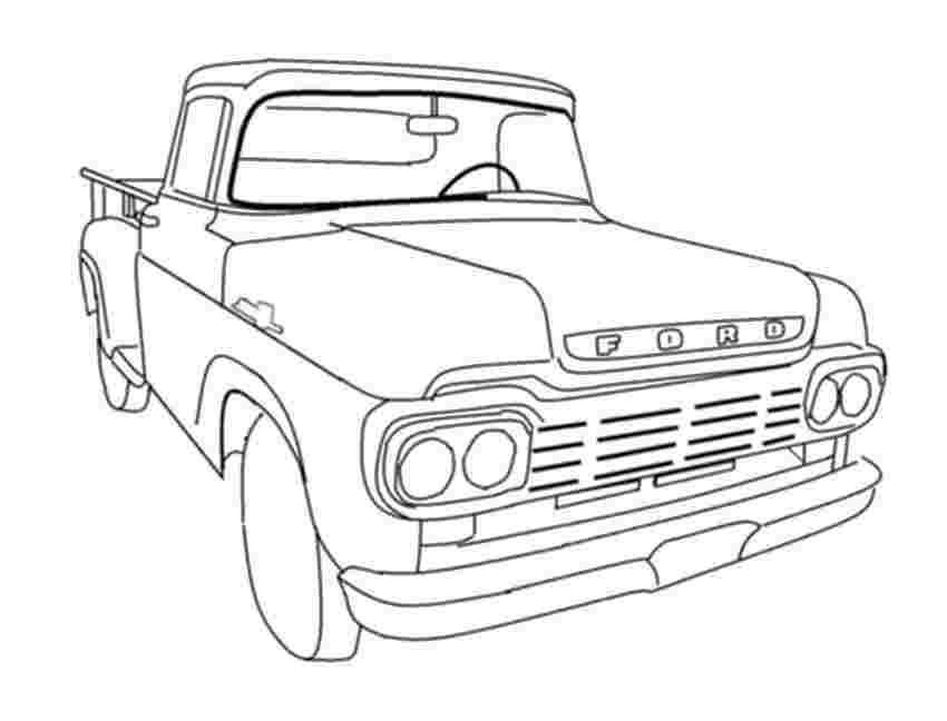 just coloring ford pickup truck coloring pages radioa