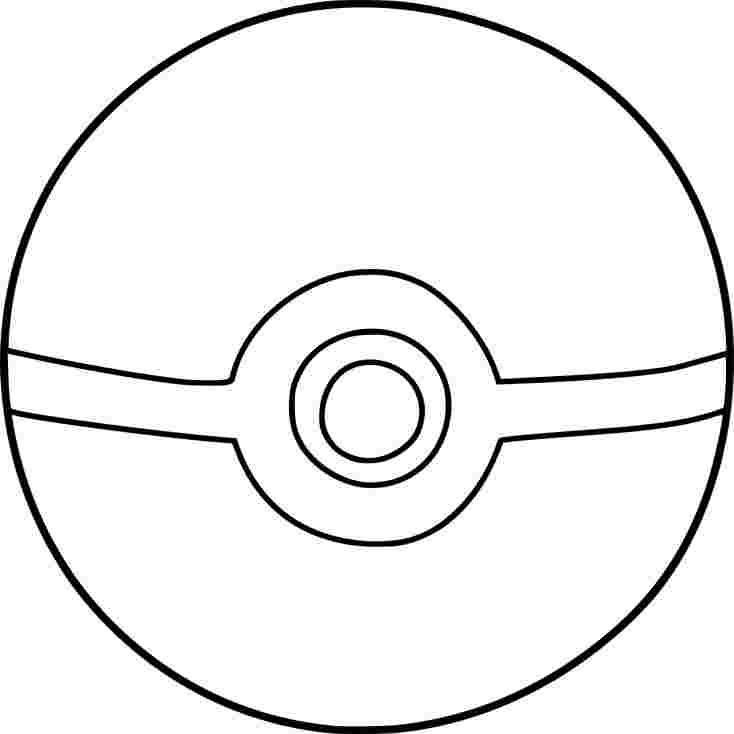 just coloring pokemon coloring pages pokeball radioa