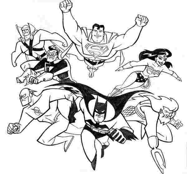 justice league coloring pages images justice league coloring