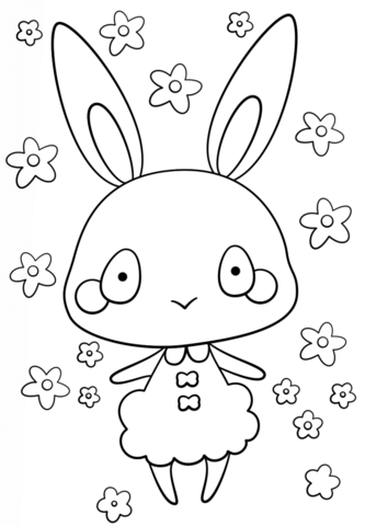 kawaii girl free printable coloring pages for girls and boys