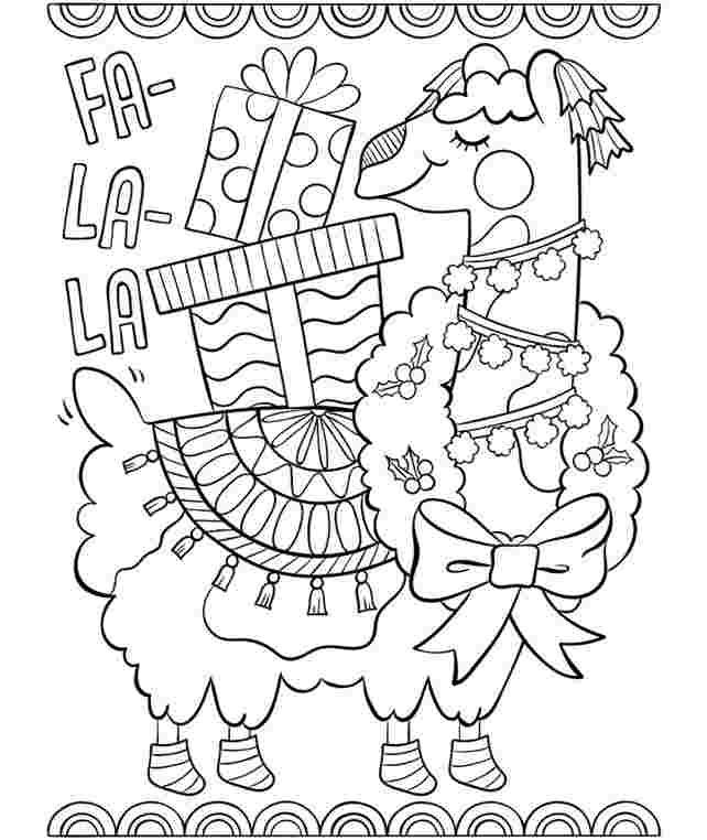 kawaii llamacorn coloring pages llamacorn pages coloring