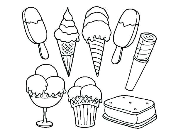 kids ice cream coloring pages vintagerigs