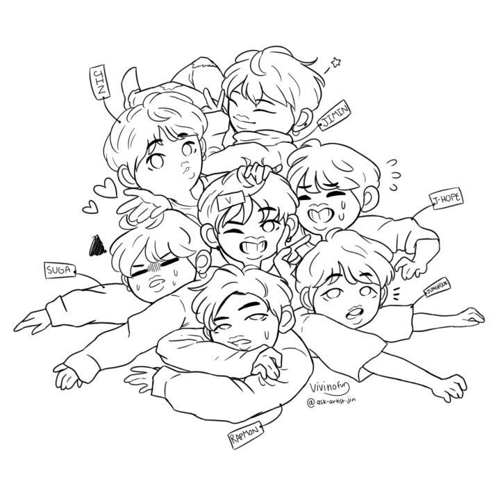 kpop coloring pages at getdrawings free for personal