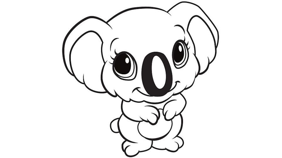 learning friends koala coloring printable from leapfrog the