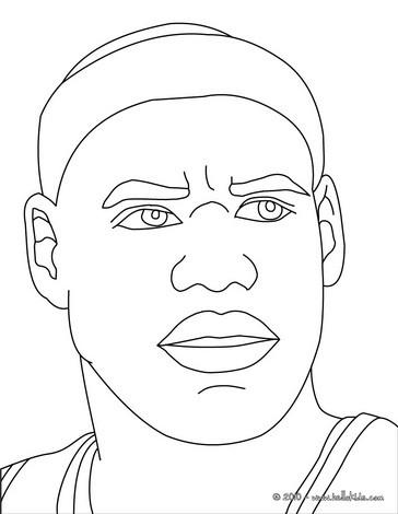 lebron james coloring pages hellokids