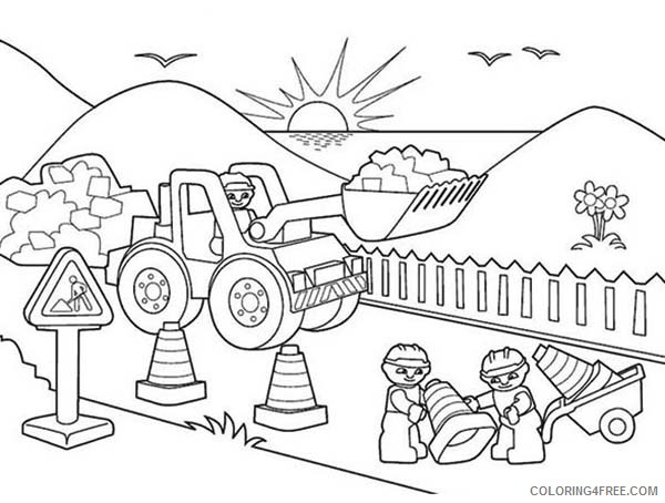 lego construction coloring pages coloring4free
