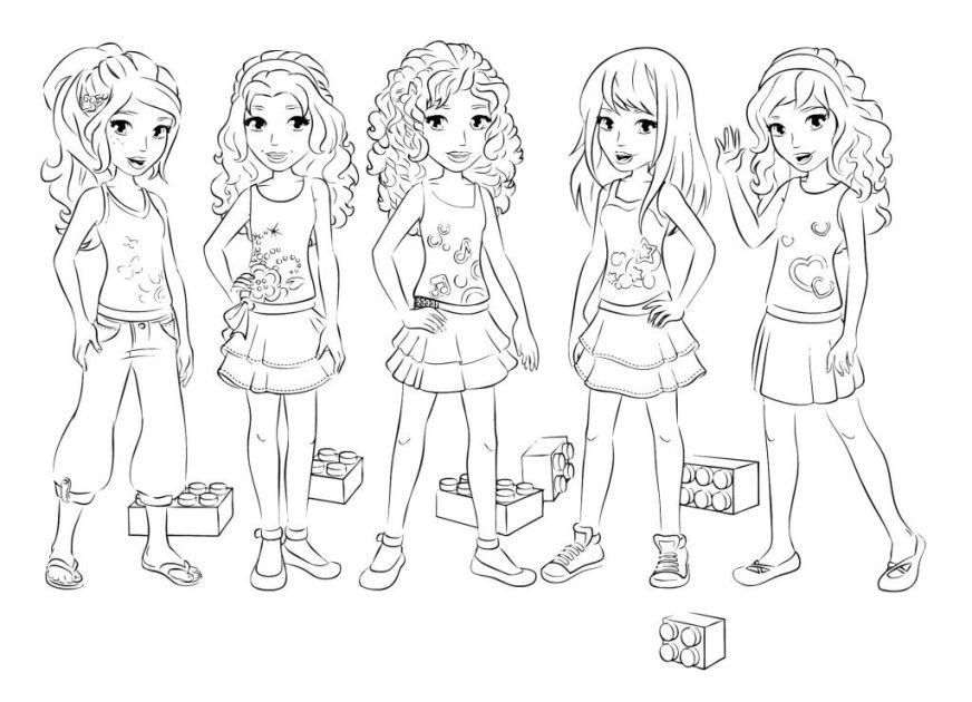 lego friends coloring pages sznezlapok iskolai
