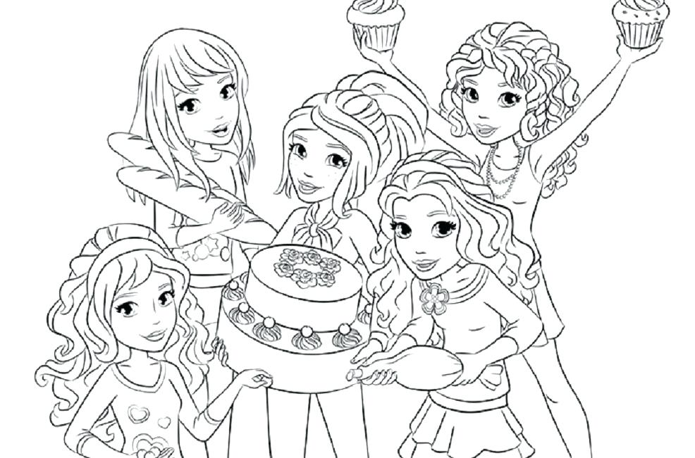 Friends Coloring Pages Picture - Whitesbelfast