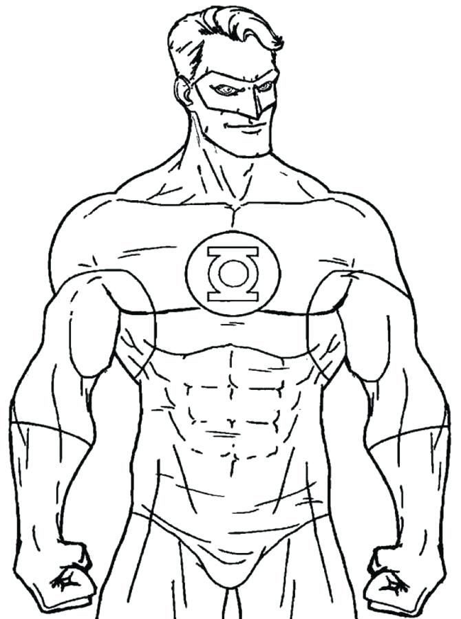 lego green lantern coloring pages at getdrawings free