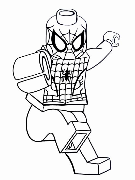 lego spiderman coloring page fresh drawn spiderman lego
