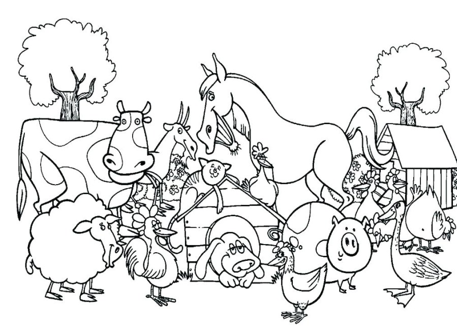 library of animals clip art free library coloring pages png