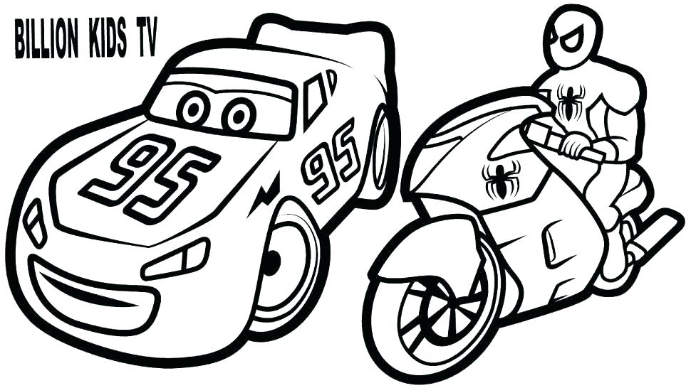 Lightning Mcqueen Coloring Pages Picture Whitesbelfast