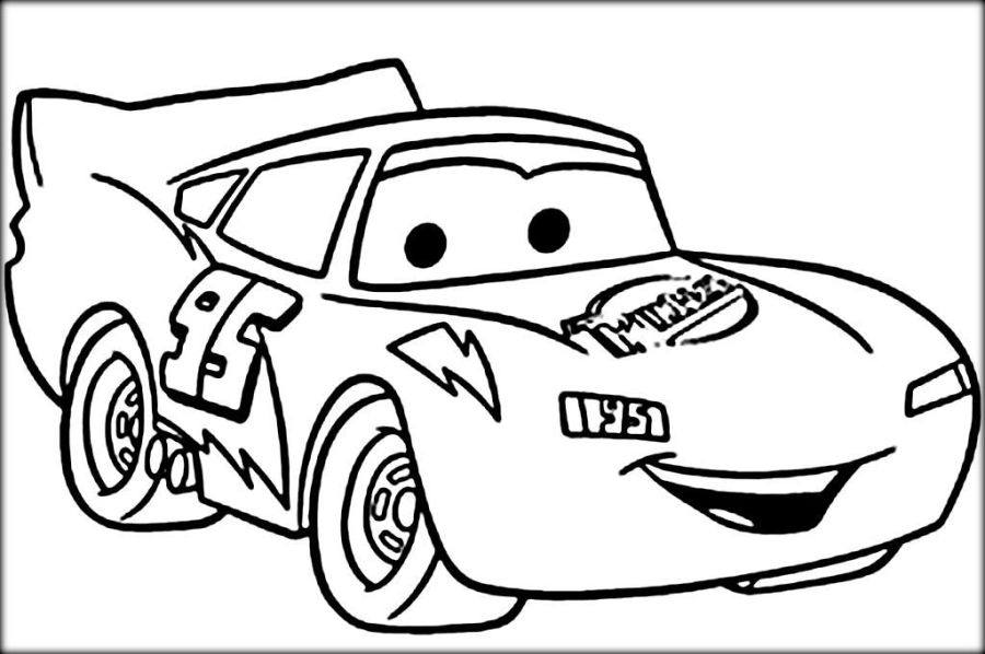 lightning mcqueen coloring pages cars coloring pages race