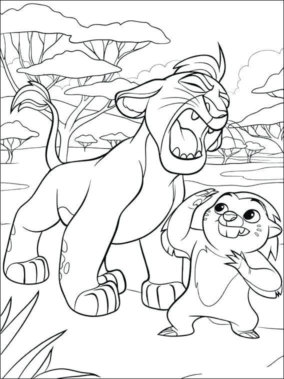 lion guard coloring pages malvorlagen pferde malvorlage