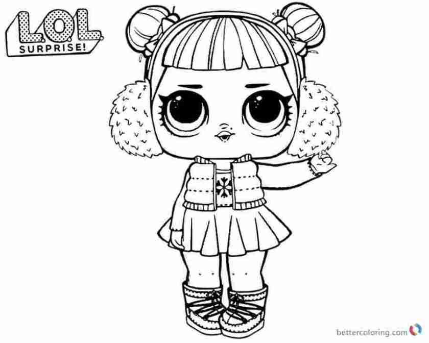lol surprise coloring pages angel angel lol surprise doll