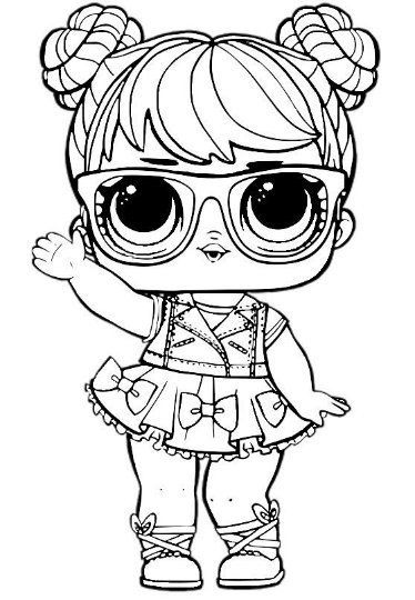 lol surprise coloring pages lol dolls party lol surprise