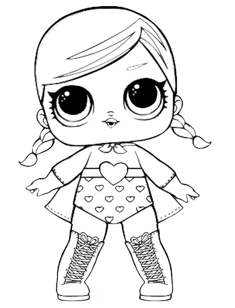 Lol Dolls Coloring Pages Ideas - Whitesbelfast