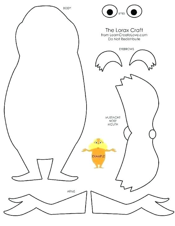 lorax coloring pages colouring sheets page kotletapro