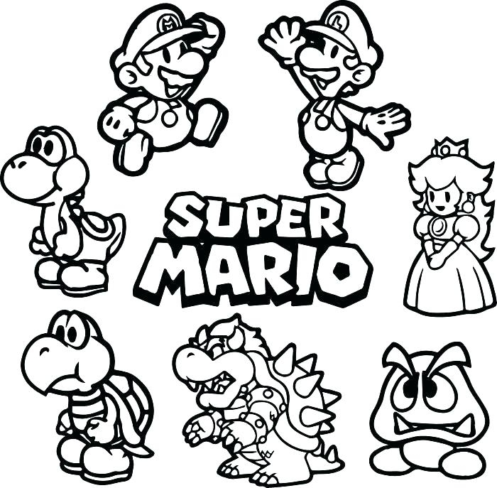 mario odyssey coloring pages bowser printable fun for kids
