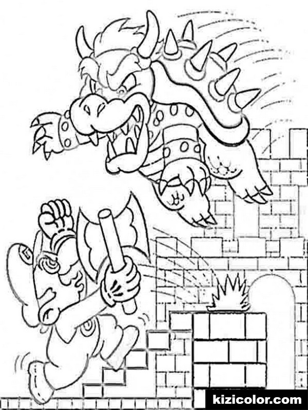 mario odyssey free printable coloring pages for girls and