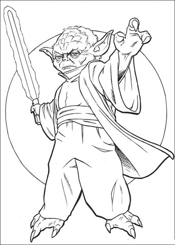 master yoda coloring page free printable coloring pages