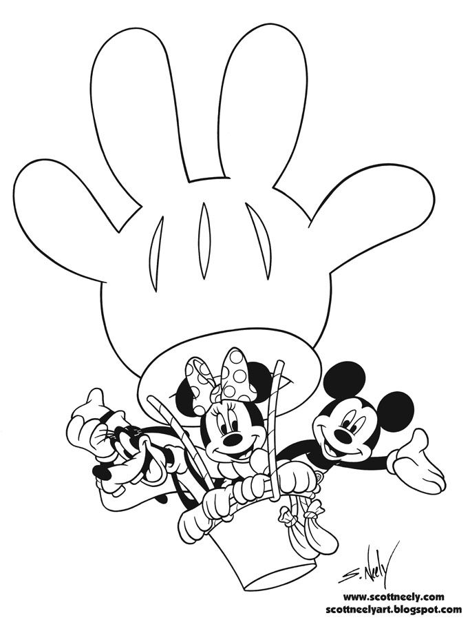 mickey mouse clubhouse coloring page 2nd birthday mickey