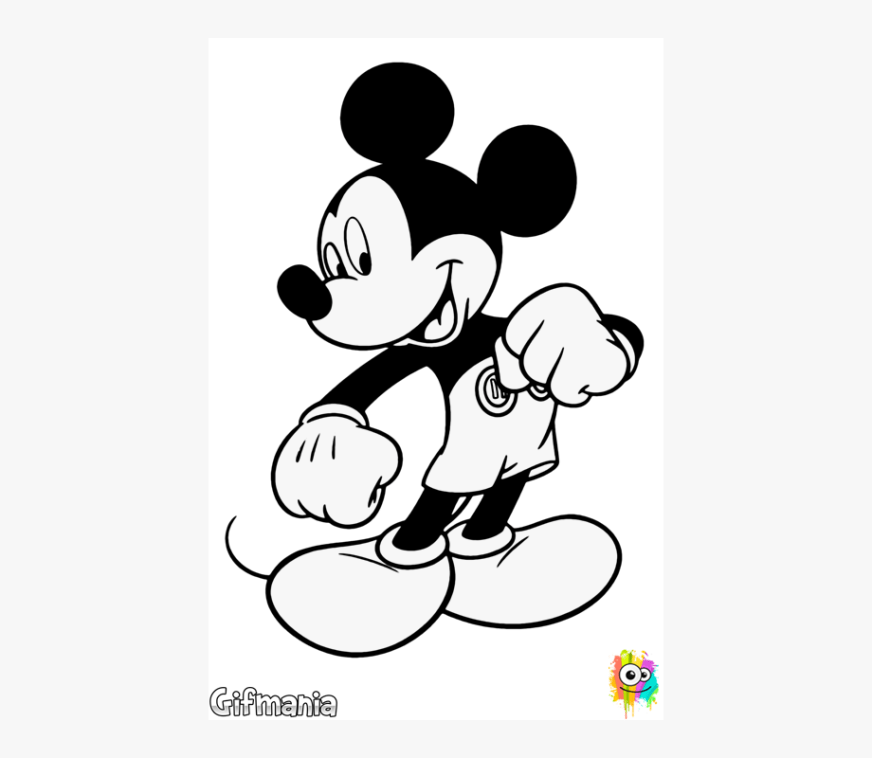 mickey mouse coloring pages cliparts cartoons jingfm