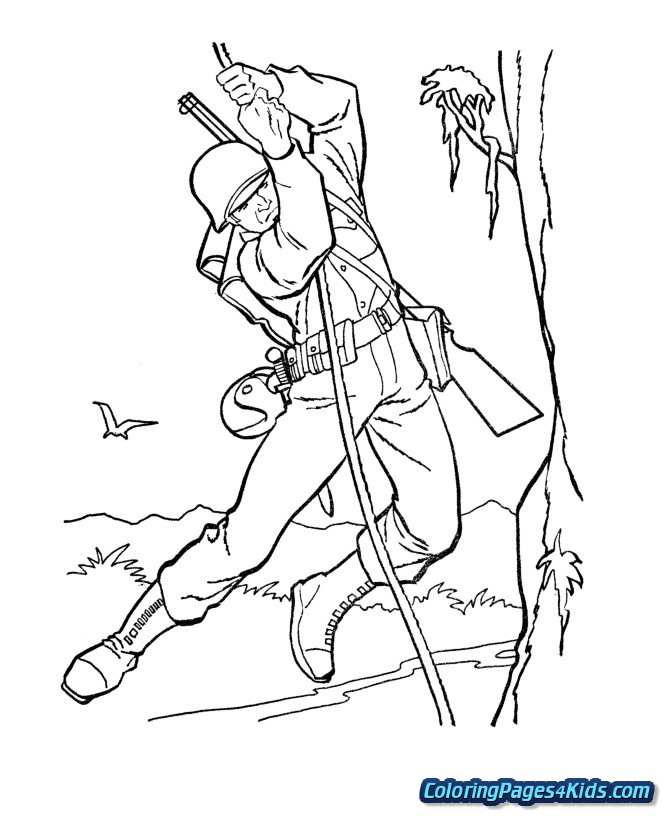 military coloring pages free printable coloring pages
