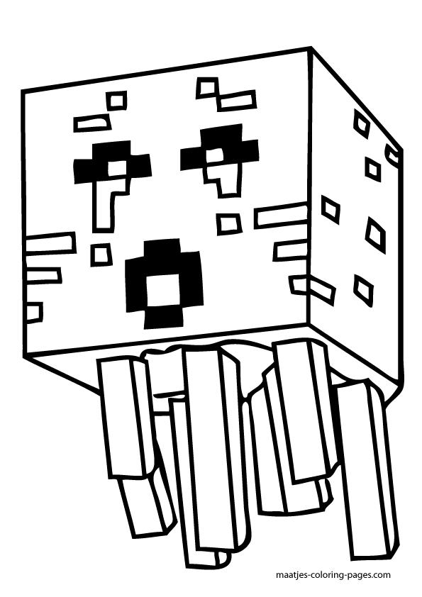 minecraft coloring pages geburtstag malvorlagen ausmalen
