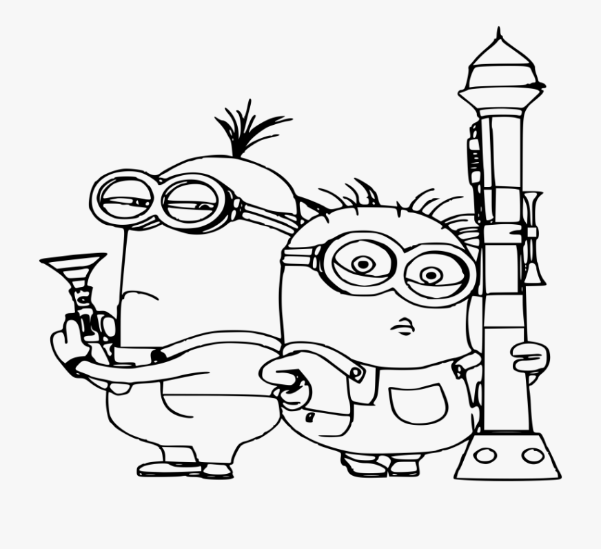 minion coloring pages despicable me coloring book kids