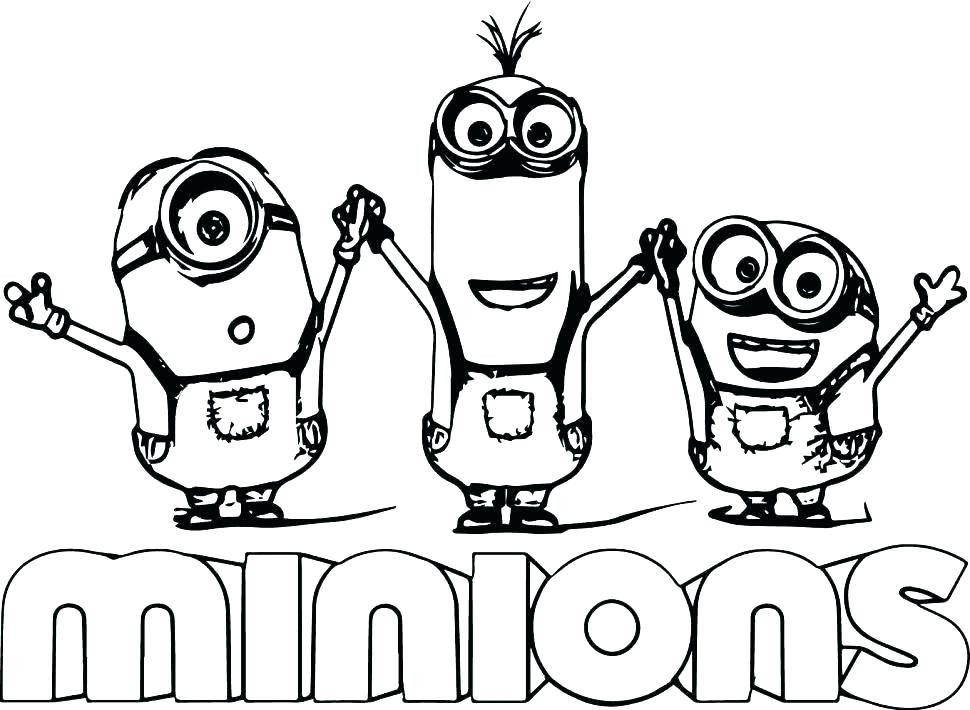 - Minions Coloring Pages Pictures - Whitesbelfast