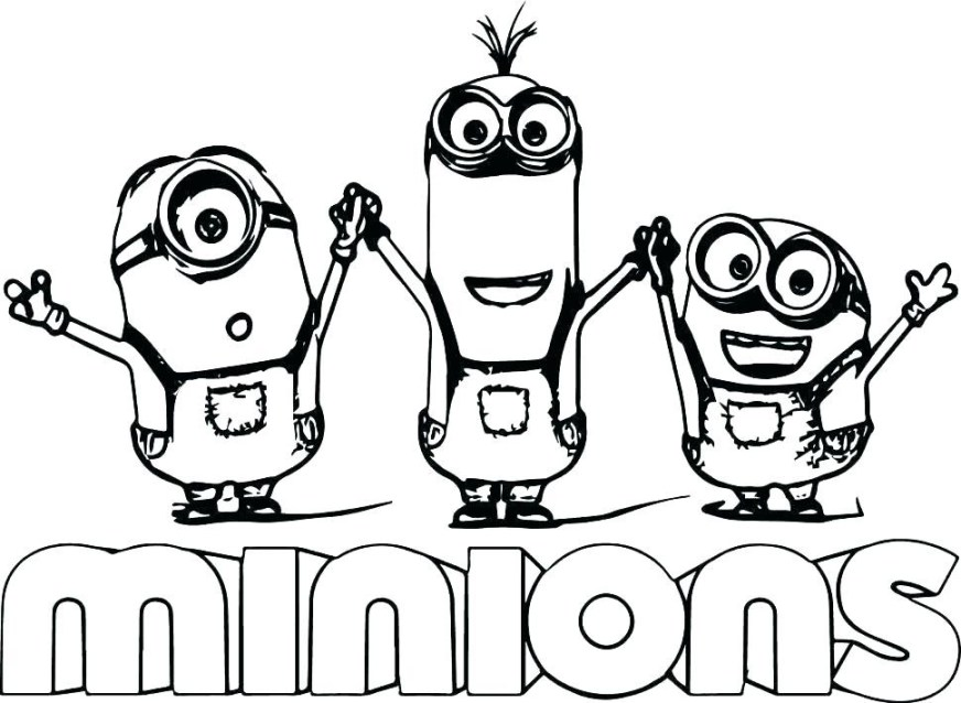 minion coloring pages uwcoalition
