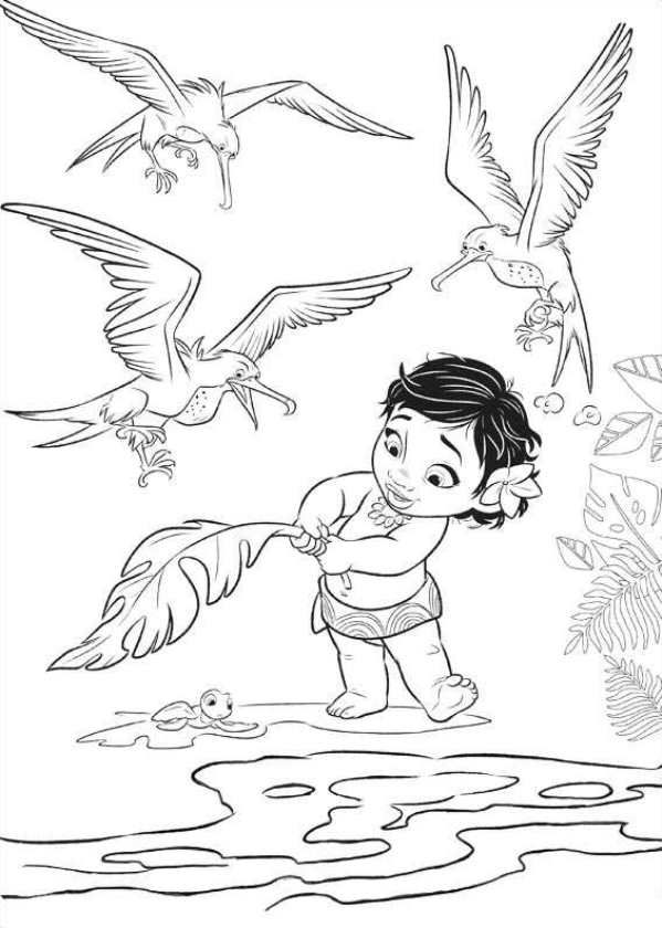 moana coloring page moana coloring pages disney coloring